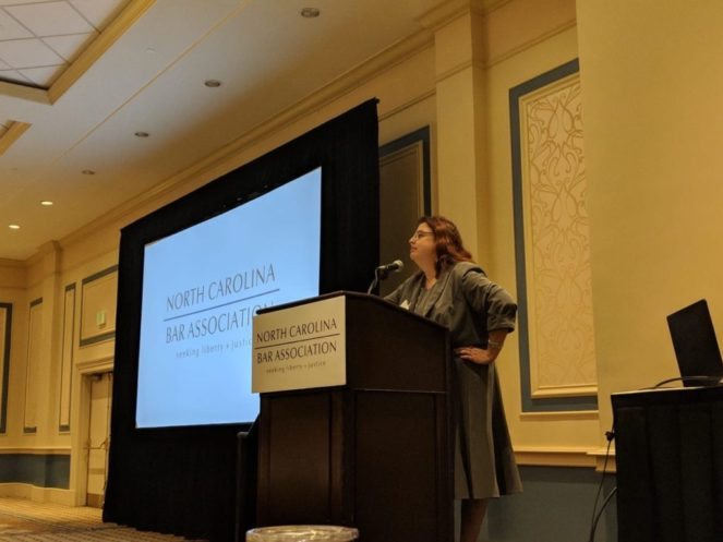 N.C. Annual Family Law Conference in Charleston SC (May 2018)